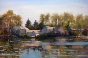 1129-Peinture_Etang_Bonde-30x20